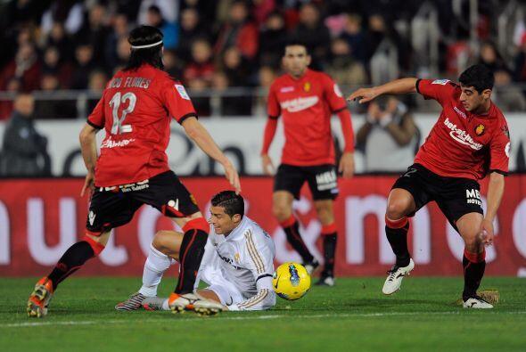 Y el Mallorca se hizo fuerte, aprovechando la localía y el resultado.