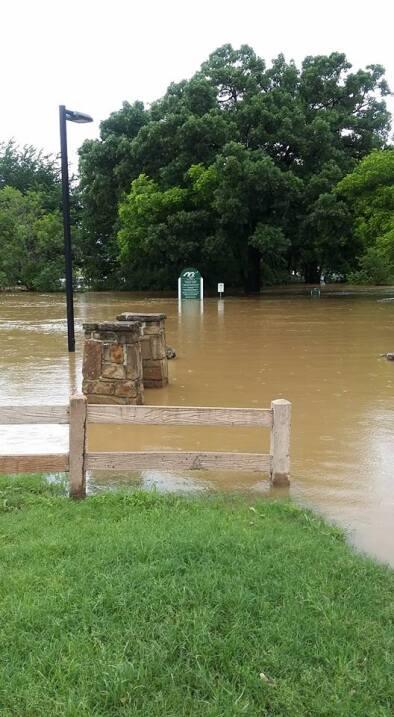 Inundaciones en Dallas