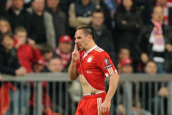 Ribery, quien se ha vuelto involucrado en acusaciones de prostitución de...