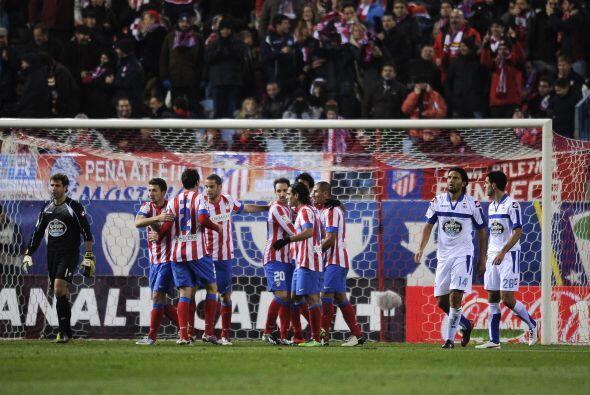 El brasileño Diego Costa puso en ventaja al Atlético, pero el jugador a...