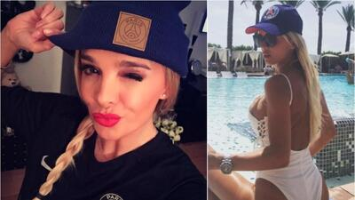 Sin Neymar, las esperanzas de Virginia Caprice con su PSG están en Cavani y Mbappé