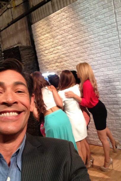 """""""Dos ángulos de las chicas de @NBL @DespiertaAmeric"""", mostró Johnny. (Ma..."""