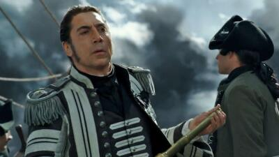 Javier Bardem en 'Pirates of the Caribbean'