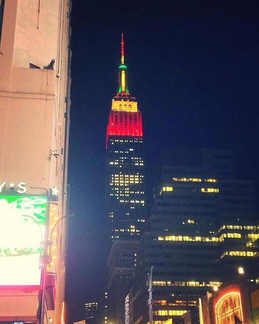 El Empire State se viste de Thanksgiving