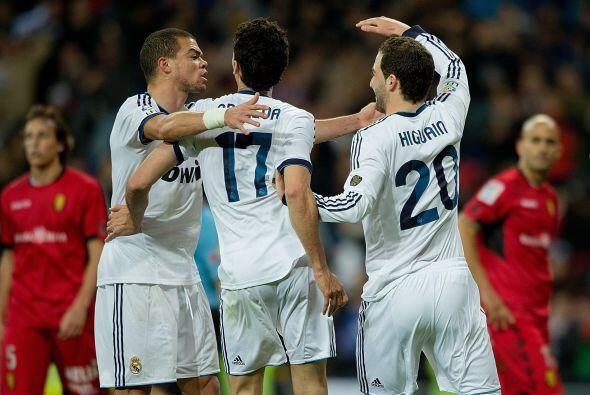 Con unos pocos minutos de concentració el Madrid rompió al...
