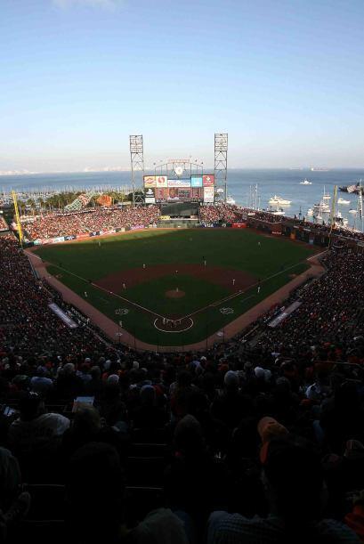 Los Giants disfrutaron de una tarde maravillosa en San Francisco para co...