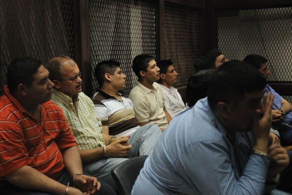 También recibieron penas de 313 años los guatemaltecos Sa&...