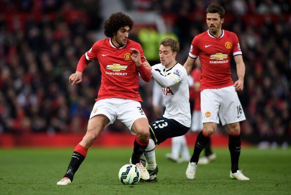 El Manchester United se impuso con claridad al Tottenham en un partido q...