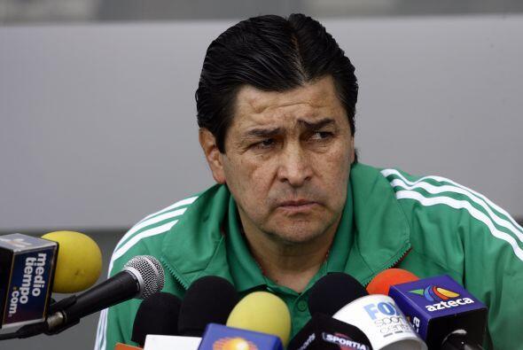 El 'Tri' acudió con un equipo alternativo de la mano de Luis Fernando Tena.