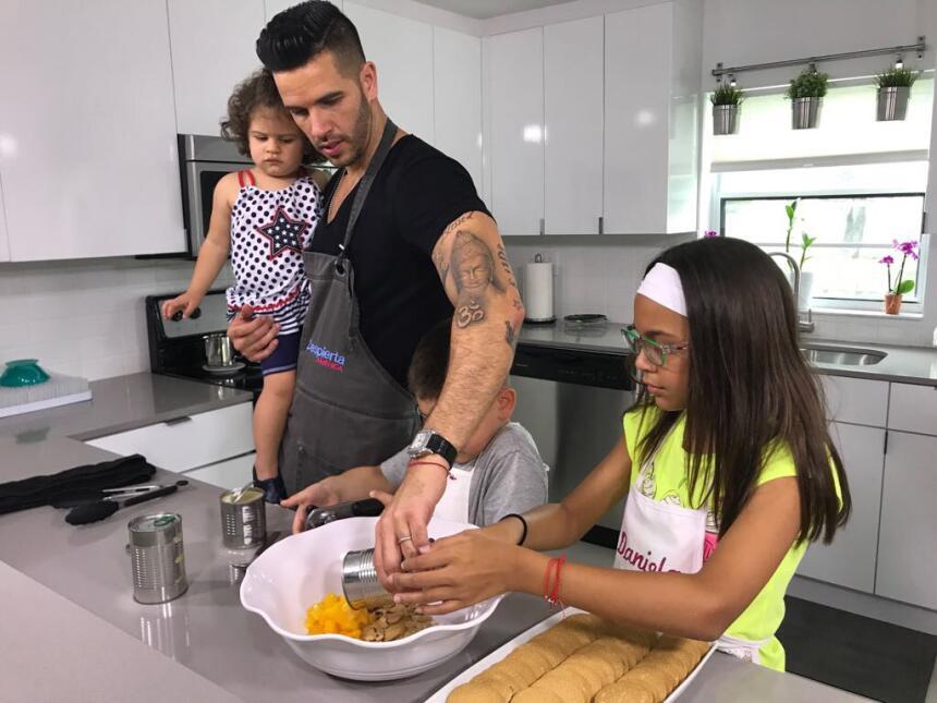 Chef Jesús y Anabella