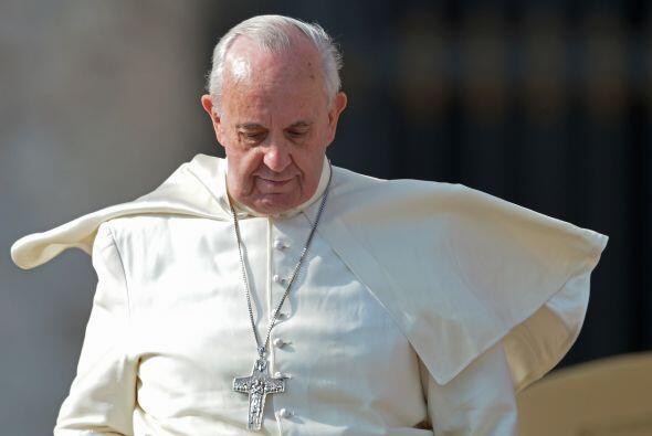 En la posición número 4 se encuentra el papa Francisco. El líder espirit...