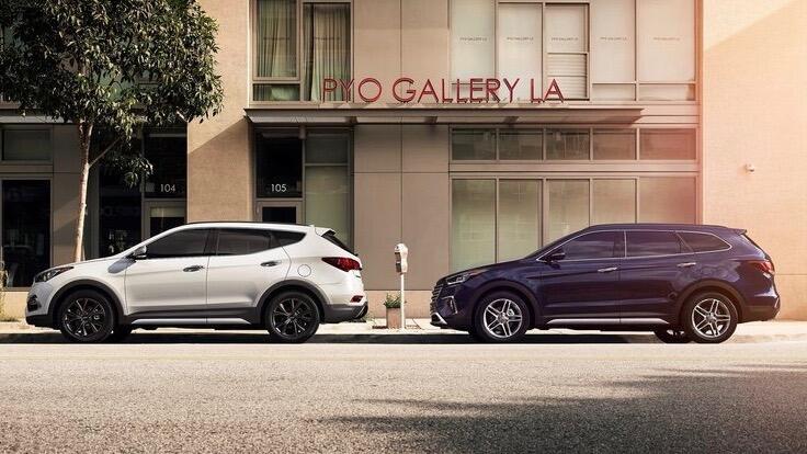 Hyundai Santa Fe Sport y Santa Fe
