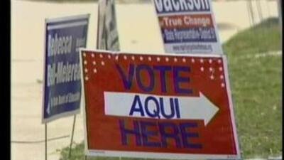 Elecciones marchan tranquilamente en el Condado Travis