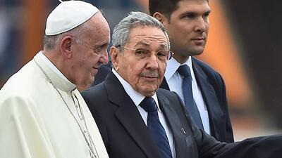 El Papa Francisco inicia su vista en Cuba