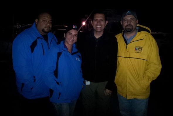 Nuestro reportero Pedro Rojas se trasladó hasta la zona devastada por un...