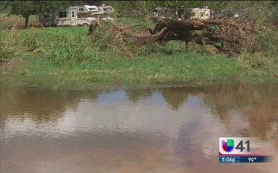 Floresville se recupera tras intensas lluvias