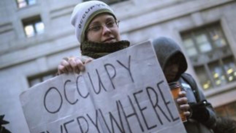 Miembros del movimiento 'Occupy Chicago' dijeron que se unirán a la marc...