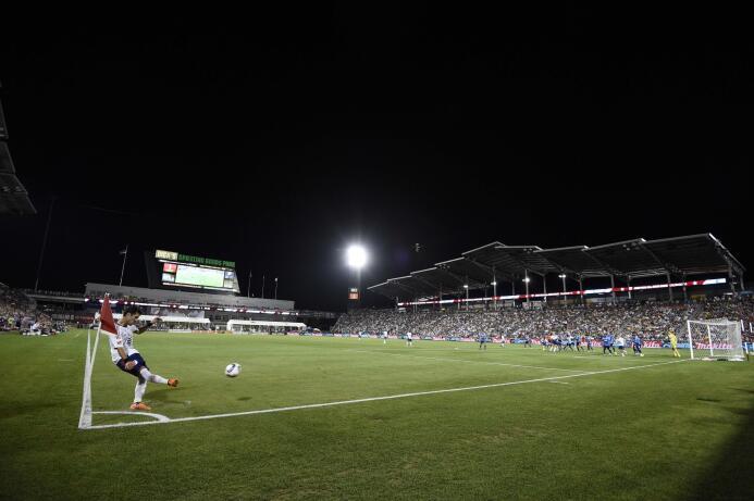Las mejores imágenes del Partido de las Estrellas de la MLS USATSI_87240...