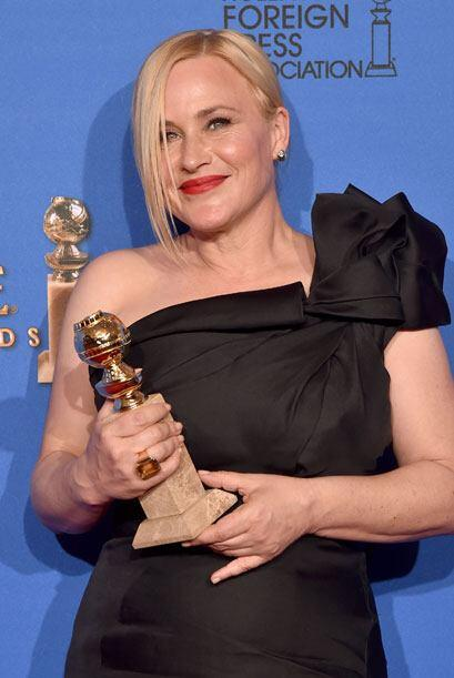 Patricia Arquette, Mejor Actriz de Reparto en Cine, por 'Boyhood'.