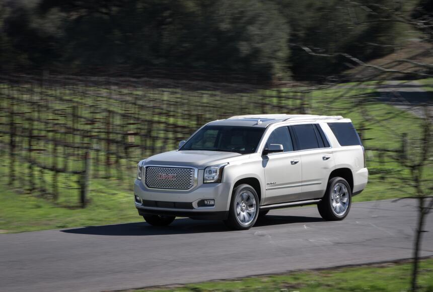 Los 10 autos con menor confiabilidad en Estados Unidos 2016-GMC-Yukon-De...