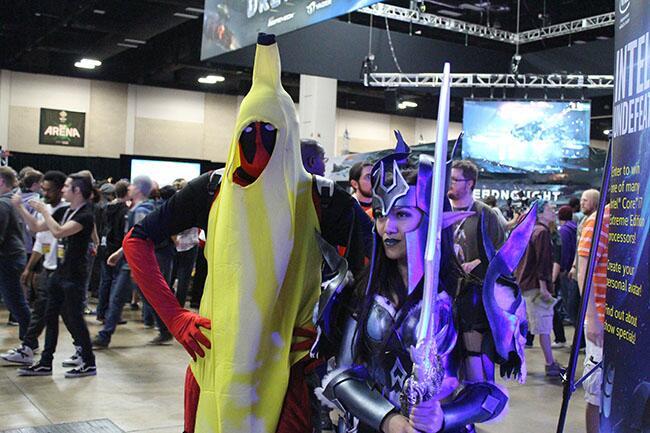 Los asistentes a este evento se vistieron de sus personajes favoritos.