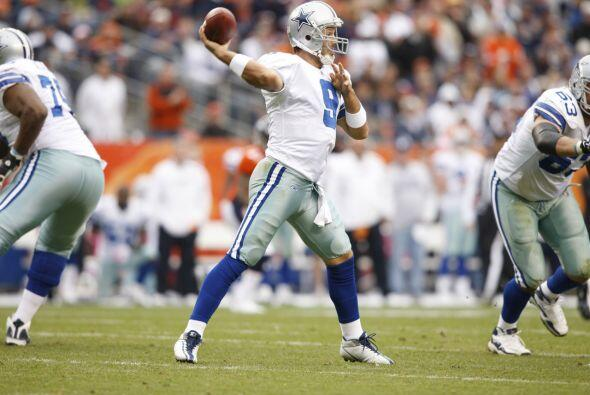 13. Tony Romo - 506 yardas: Dallas Cowboys vs. Denver Broncos, 6 de octu...