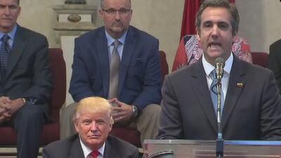 Aseguran que Trump silenció escándalos e infidelidades con 'National Enquirer'