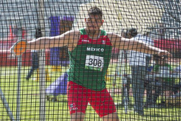 El mexicano Mario Cota se colgó la medalla de bronce en la prueba...