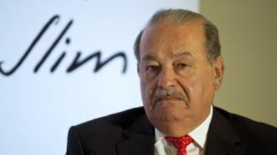 Carlos Slim, uno de los hombres más ricos del mundo, en una imagen de en...
