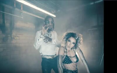 Tinashe and Offset appear together in the music video for 'No Drama.' Th...