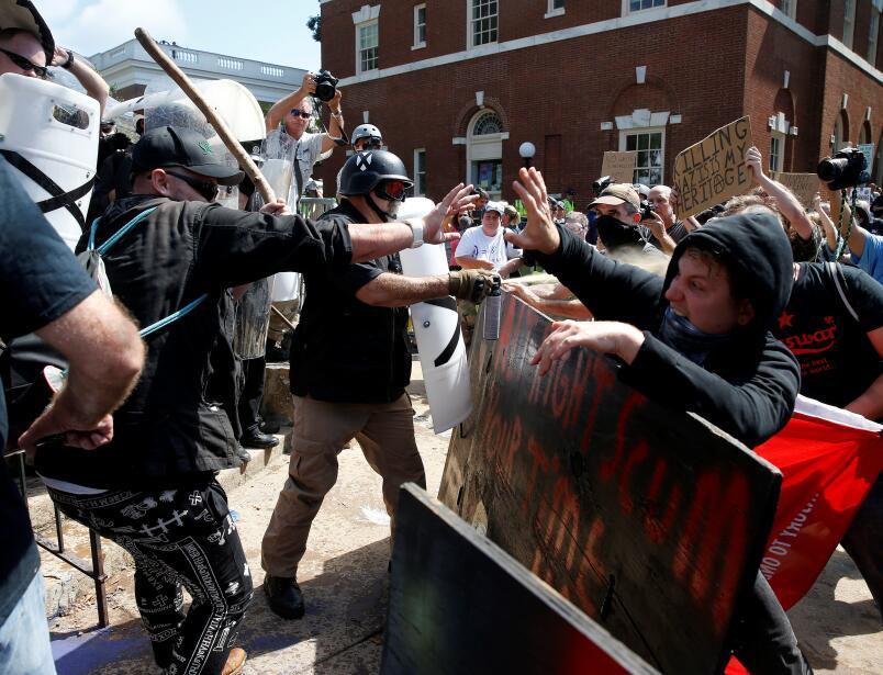 Resultado de imagen para Charlottesville racistas