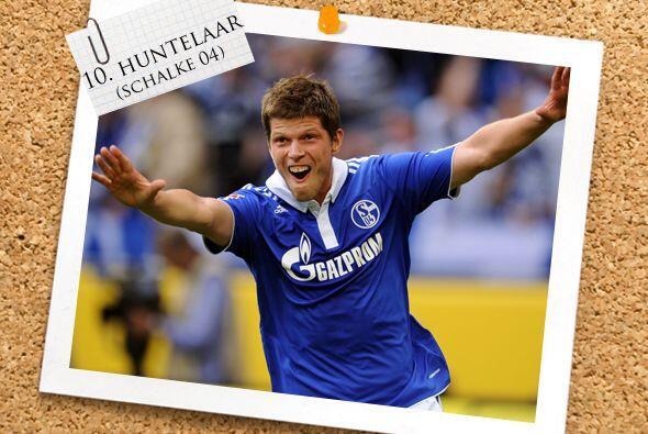 Ahora contamos con un ariete holandés, Klaas-Jan Huntelaar.