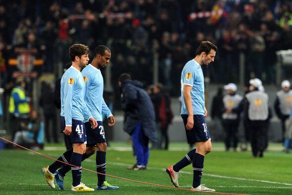 Lazio está obligado a ganar por dos goles o más en el próximo juego.