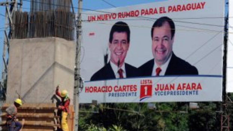 Los paraguayos eligen el domingo a las autoridades encargadas de sacar a...