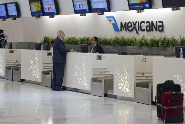 Mexicana tiene 27 mil acreedores, en su mayoría los empleados de la firm...