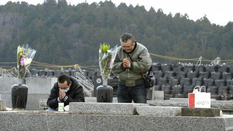 Conmemoración de la tragedia de Fukushima, en Japón