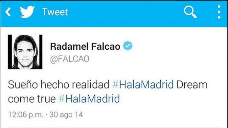 El 'Tigre' desmintió que haya anunciado su llegada al Real Madrid pese a...