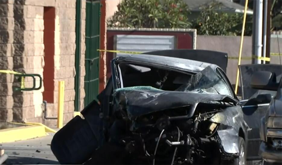 Accidente en Los Ángeles