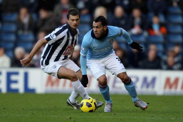 Manchester City visitó al West Bromwich con la esperanza de dejar atrás...