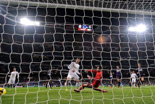 Este gol representó el séptimo para Bale en la Liga española cumpliendo...