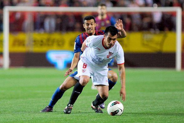 A pesar del buen segundo tiempo del Sevilla, el resultado se mantuvo.