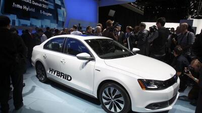 El Jetta Hybrid fue uno de los estrenos de Volkswagen para el Autoshow d...