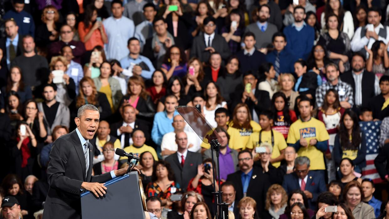 A year after Obama's executive action, the undocumented remain steeped i...