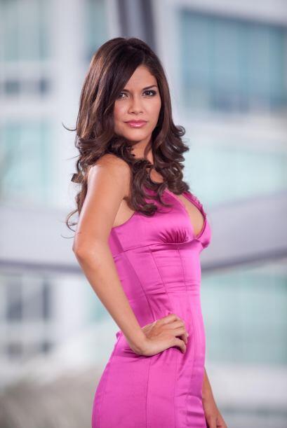 El rosa es el color favorito de Ana Patricia ¿Lo dudan?