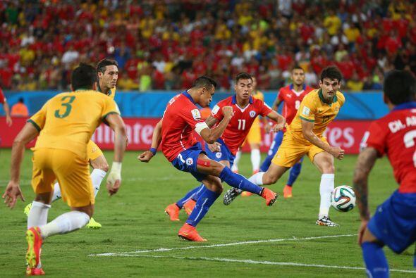Chile arrancó su debut en Brasil demostrando el poder que tiene al ataqu...