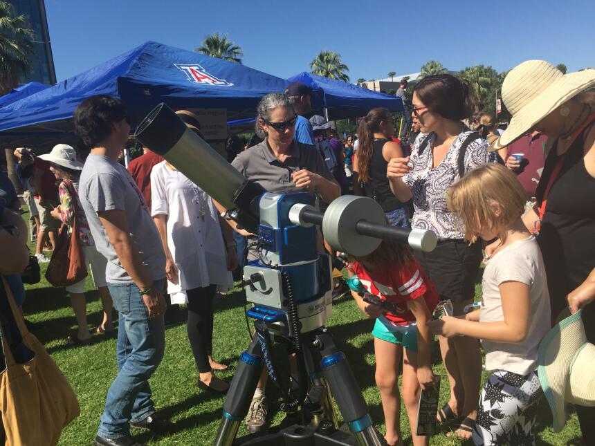 En fotos: Lo que se vio del eclipse solar en Arizona IMG_3129.JPG