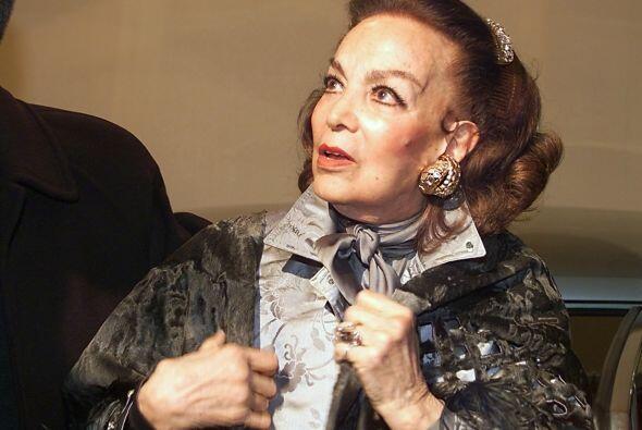 María Félix también conocida como 'La Doña'...