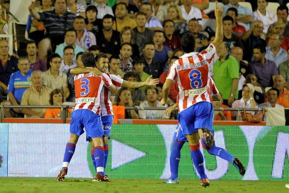 Los 'colchoneros' creían en salir de los tres puntos del estadio Mestalla.