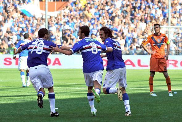 Sin embargo, un gol agónico (al 90) de Daniele Mannini puso el 3-3 defin...