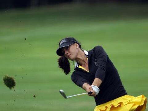 La divina Maria Verchenova es la primera golfista rusa en jugar a tiempo...